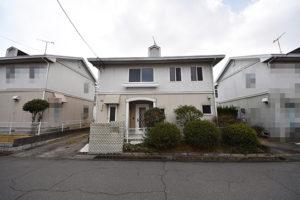 広島市佐伯区城山2丁目の注文住宅用土地の正面画像