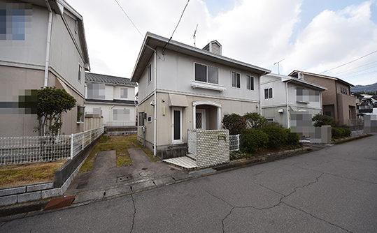 広島市佐伯区城山2丁目の注文住宅用土地の全景画像