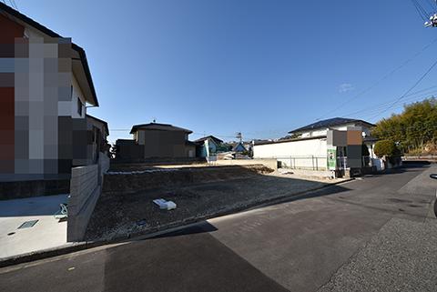 廿日市市阿品3丁目注文住宅用土地の全景画像
