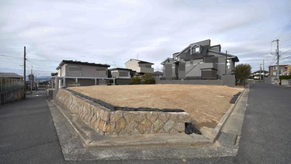広島市南区向洋新町3丁目注文住宅用土地の外観