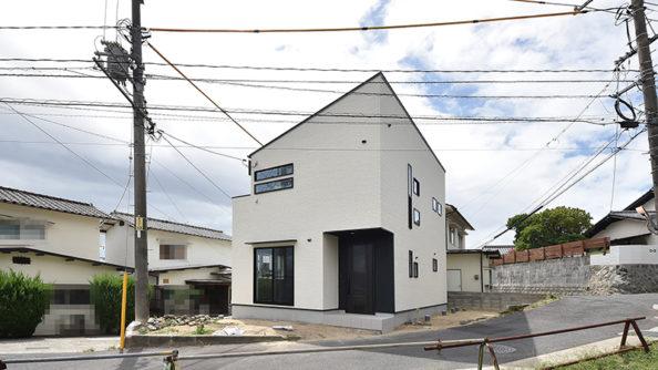 広島市佐伯区千同注文住宅完成外観を撮影2018.0825