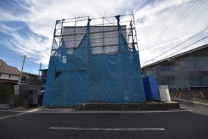 広島市佐伯区利松A現場を前面道路から撮影180827