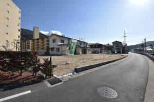 戸坂山根1丁目の買取土地写真3