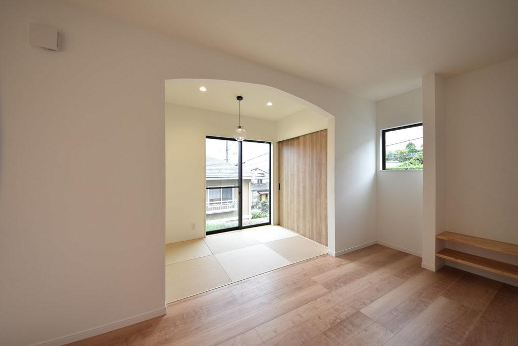 【和室】空間を分ける垂れ壁